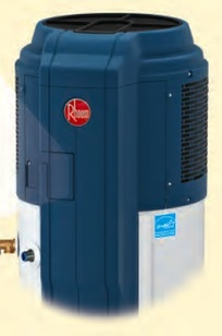 Rheem HP-50 Heat Pump Water Heater on Designer Page