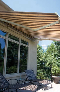 Tri Vantage Shade Systems on Designer Page