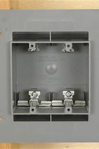 Airfoil Airtight Receptacle Boxes on Designer Page