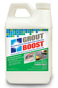 Grout Boost on Designer Page