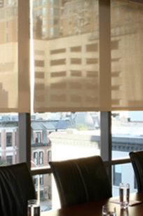 Draper PVC-Free Interior Shade Screening on Designer Page