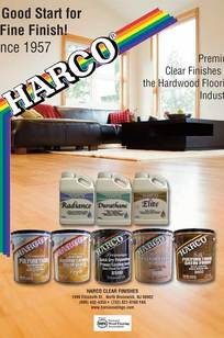 Harco Polyurethane Floor Finishes on Designer Page