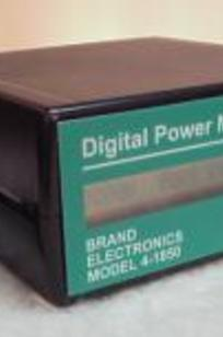 Brand Digital Power Meter on Designer Page