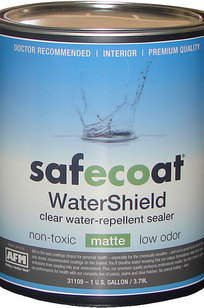 Safecoat Clear Finishes on Designer Page