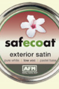 Safecoat All Purpose Exterior Satin on Designer Page