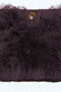 Shearling Kashmir - Royal Amethyst on Designer Page