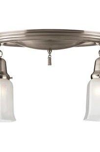 Creston Small Colonial Revival Two-Light Pan Item # A9095 on Designer Page