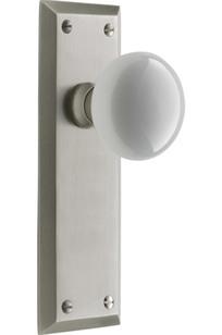 Davis Interior Door Set Classic Porcelain Knob Door Set Item # C5542 on Designer Page