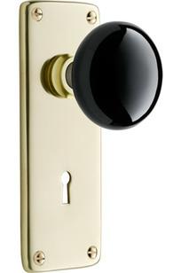 Coleman Interior Door Set Classic Porcelain Knob Door Set Item # C7529 on Designer Page