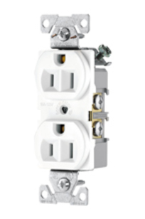 Commercial Grade Receptacles 15A-125V NEMA 5-15R - BR15, CR15, 817 on Designer Page