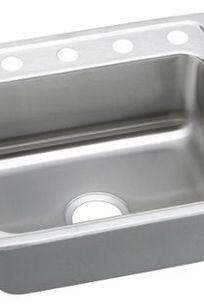 Gourmet (Lustertone) Stainless Steel Single Bowl Top Mount Sink LR2521 on Designer Page
