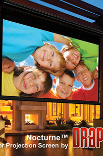 Nocturne/Series C Manual Projection Screen on Designer Page
