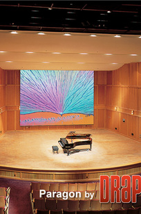 Paragon/Series E Electric Projection Screen on Designer Page