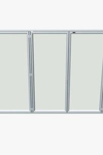 Glazed Folding Door SF 55 on Designer Page