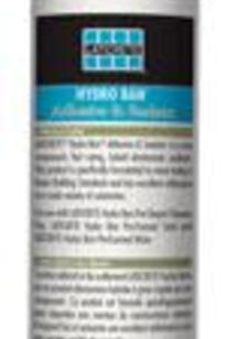 HYDRO BAN® Adhesive & Sealant on Designer Page