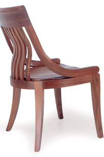 Bibliotheque Armless Chair on Designer Page