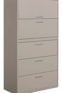 "9700 Series-File Cabinet- 5H 36"" Exec on Designer Page"