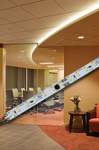 DLED-5000 Series Dimmable LED Light Strip on Designer Page