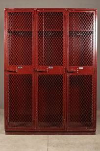Perfix - Diamond Mesh Lockers  on Designer Page