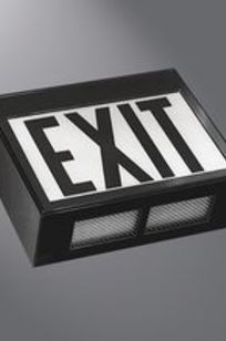 EXL LED Confinement Exit on Designer Page