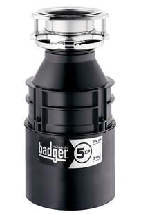 Badger 5XP Garbage Disposal, 3/4 HP on Designer Page
