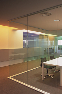 Metafora Glass Partition Wall on Designer Page