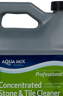 Aqua Mix Concentrated Stone and Tile Cleaner on Designer Page