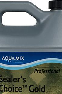 Aqua Mix Sealer's Choice Gold on Designer Page
