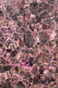 Majestic Gemstone Amethyst Polished Agglomerate Slab on Designer Page