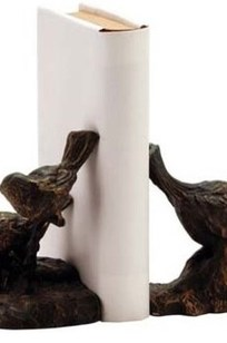 Sparrow Iron Bookends on Designer Page