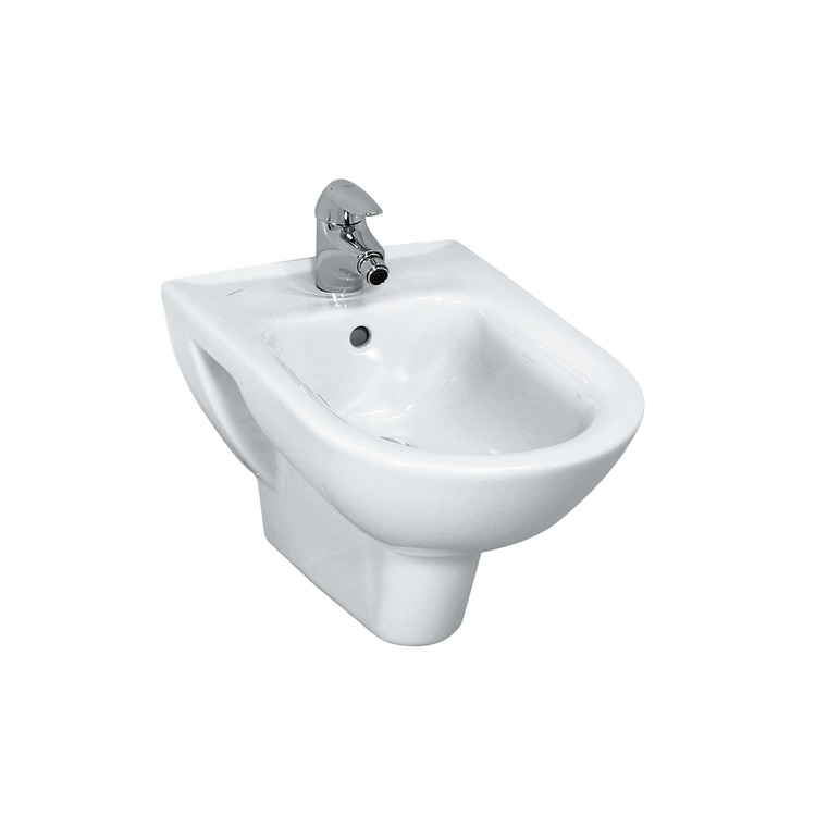 830951 wall hung bidet  2 lateral holes for the water connection 0