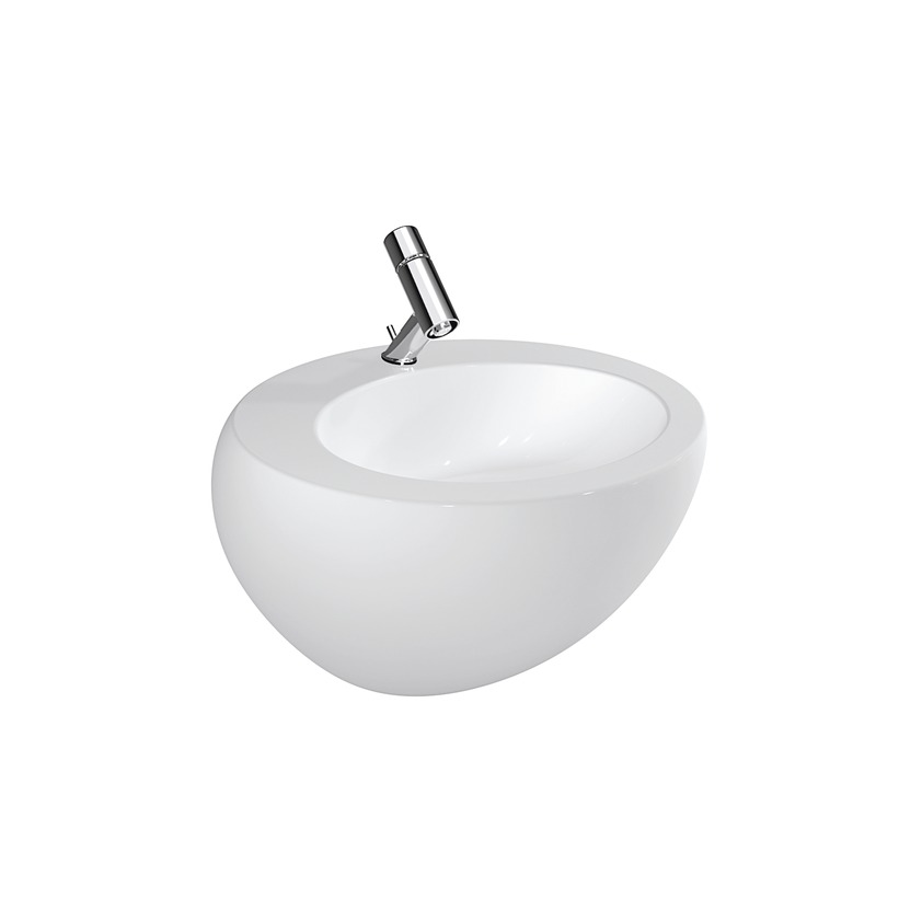 810972 washbasin with integrated p trap cover 0