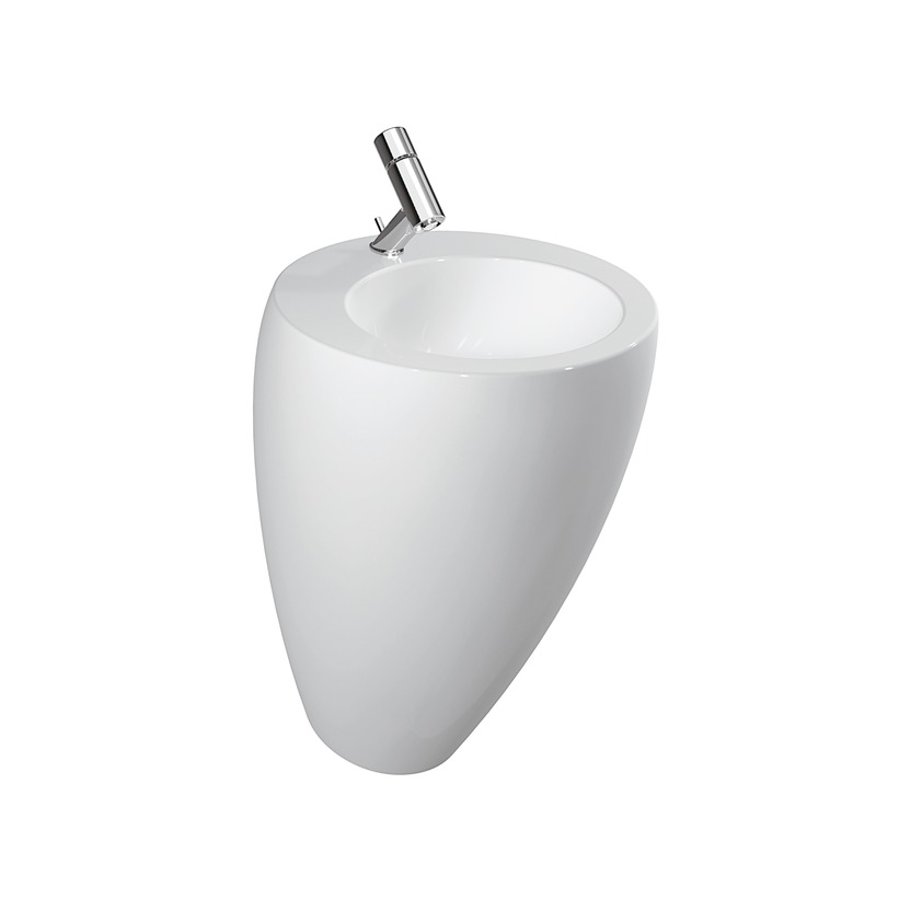 811971 washbasin with integrated pedestal 0