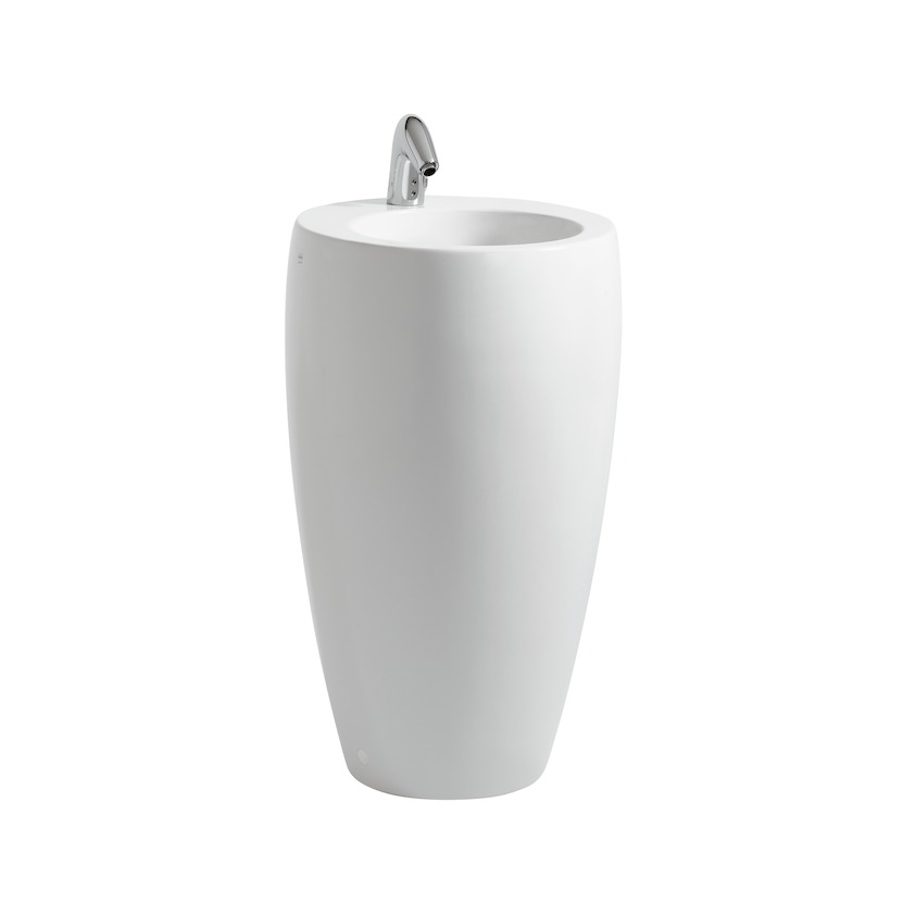 811972 washbasin  freestanding  with integrated pedestal 0