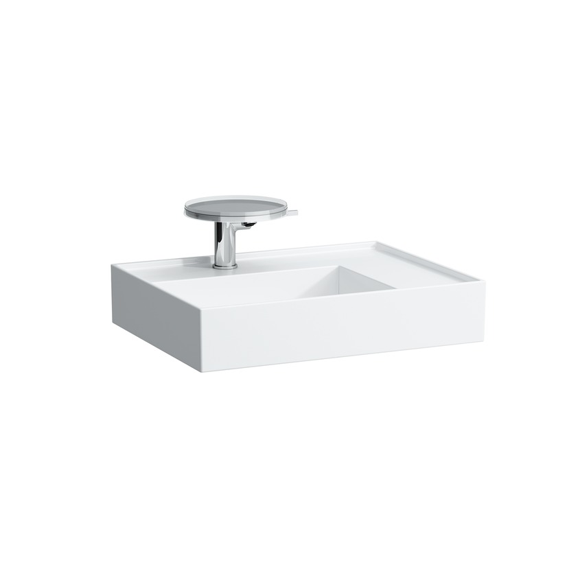 810334 washbasin  shelf right  with special hidden outlet 0