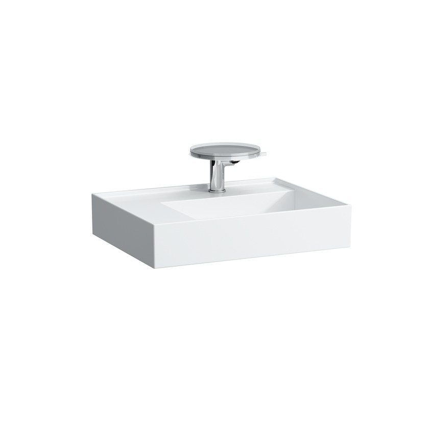 810335 washbasin  shelf left  with special hidden outlet 0