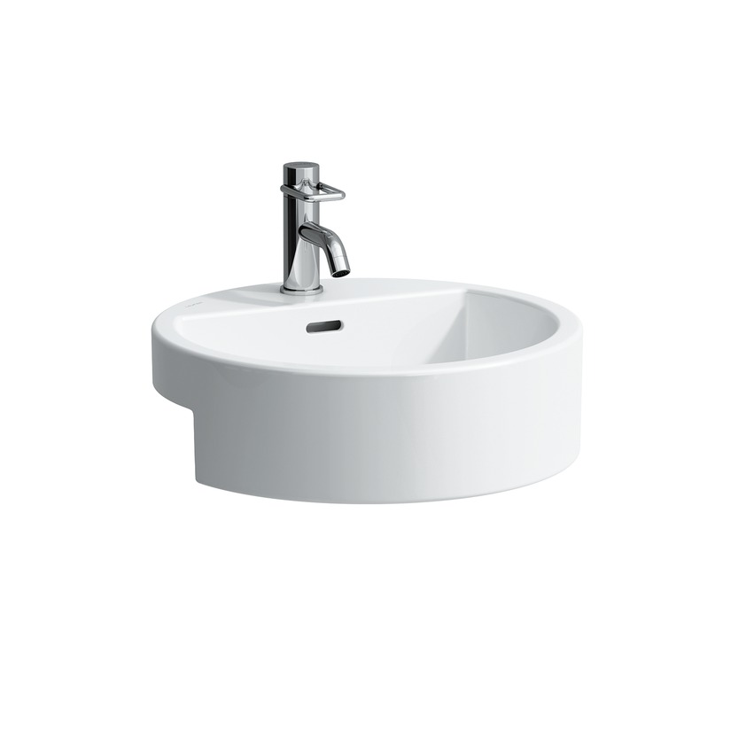 813431 semi recessed washbasin 0