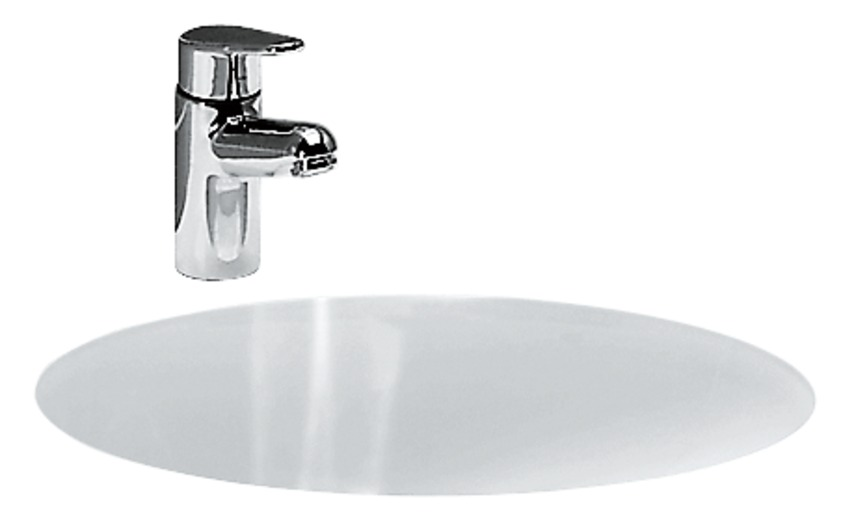 811297 built in washbasin  without tap hole bank 0