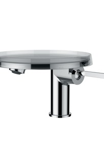 3113310041101 Projection 110 mm, fixed spout, w/o pop-up waste, w. Disc bowl on Designer Page