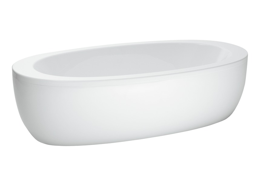 241970 bathtub  free standing with panel  sanitary acrylic  also available with whirlsystem 0
