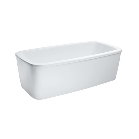 231800 bathtub free standing with panel  with frame  rim 40mm  sanitary acrylic 0