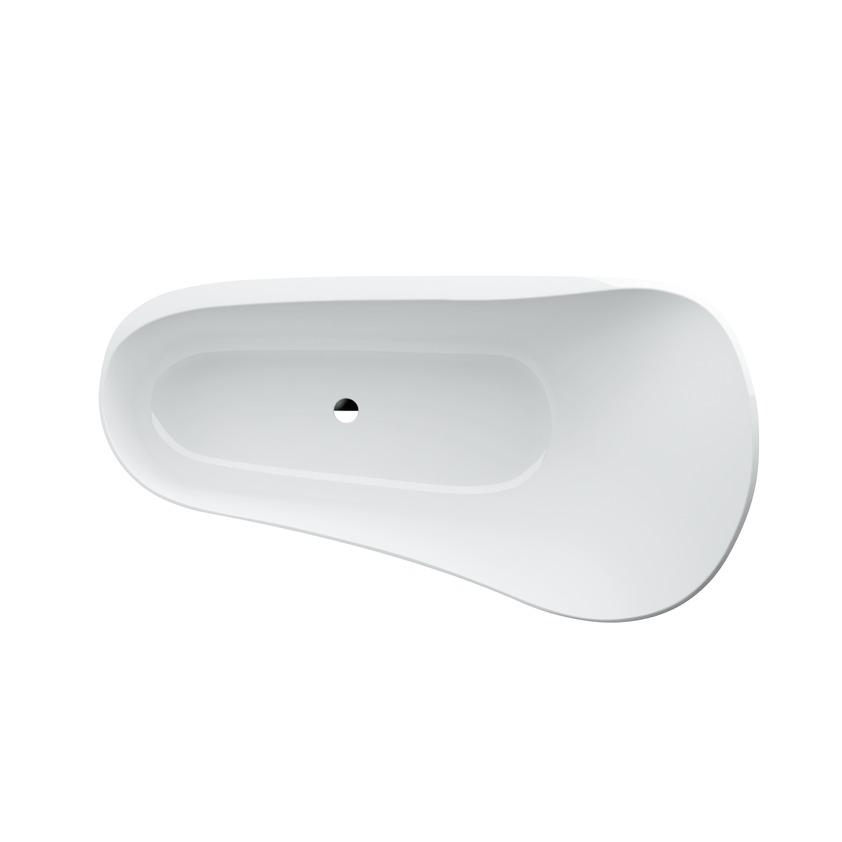 245802 freestanding solid surface bathtub 0