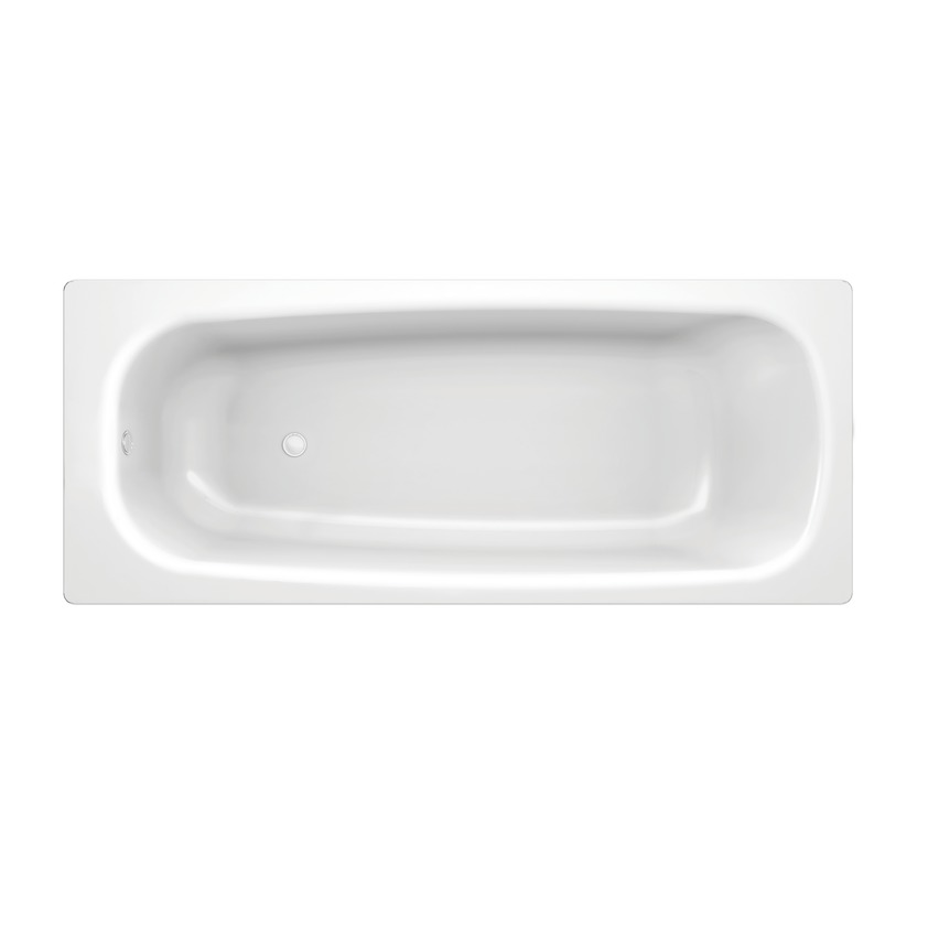 222950 rectangular bathtub  heavy gauge  low deep  with antinoise set  for metal feet  grounded 0
