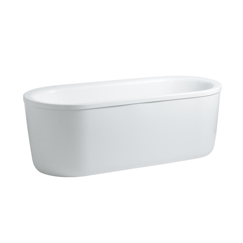 224512 oval bathtub  freestanding version  sanitary acrylic 0