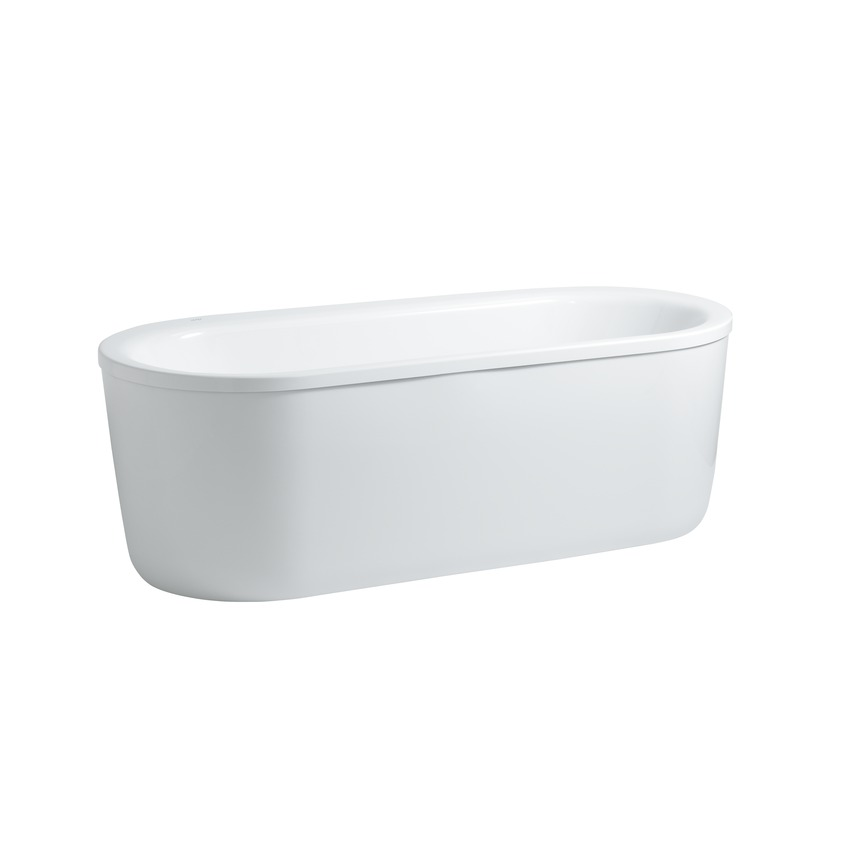 225512 oval bathtub  freestanding version  sanitary acrylic 0
