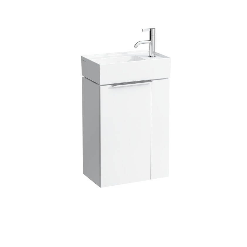 407512 vanity unit with one door  with space saving siphon  for washbasin 815334 0