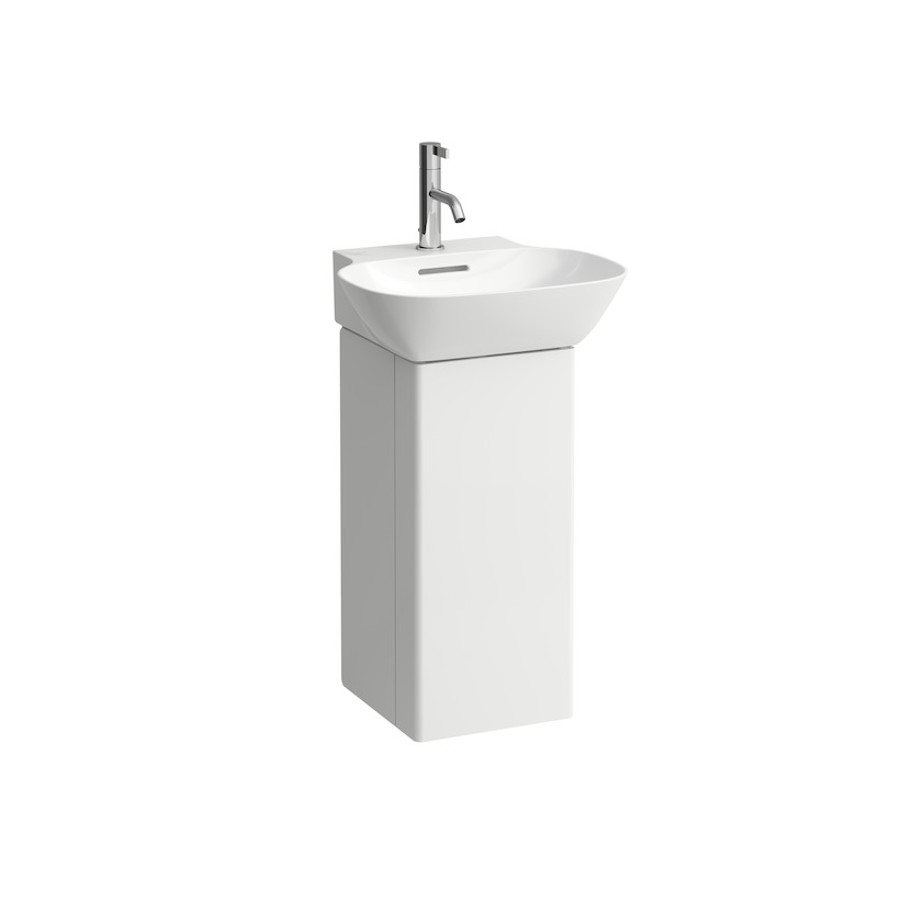 425301 vanity unit  with one door left  space saving siphon  for washbasin 815301 0