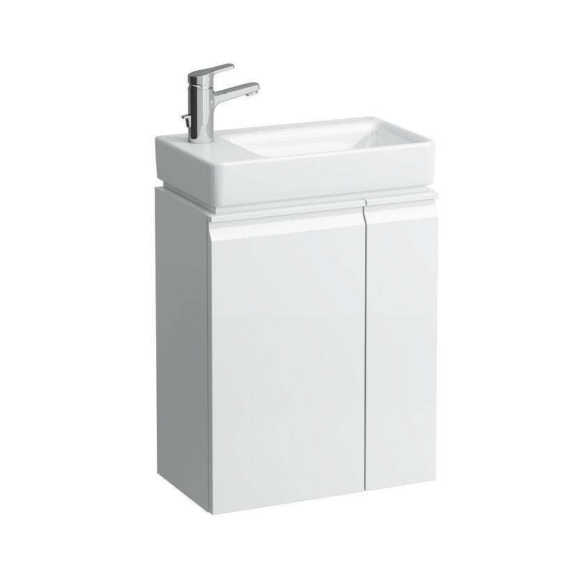 483001 vanity unit with door hinge left  shelves right for asym left washbasin 815955 0