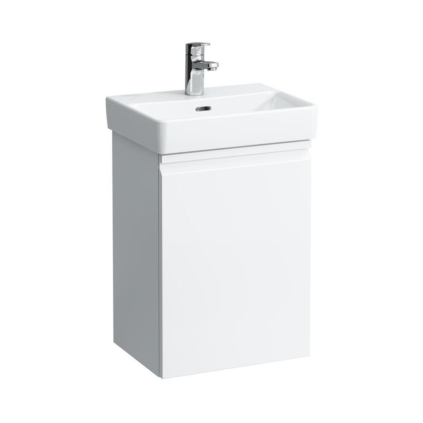 483301 vanity unit for washbasin 815961  with door left and 1 glass shelf 0