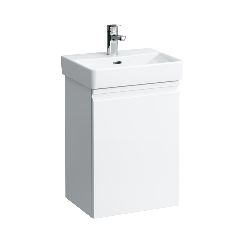 483302 vanity unit for wasbasin 815961  with door right and 1 glass shelf 0